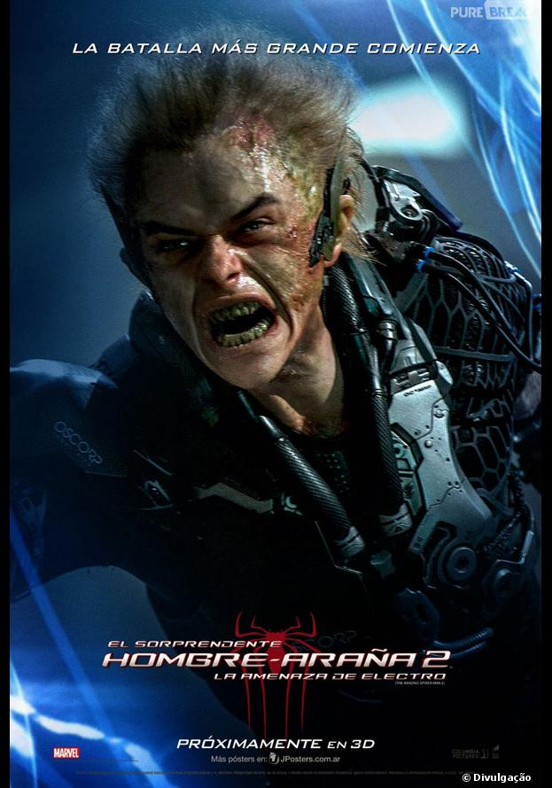 """Dane DeHaan interpreta Harry Osborn em""""O Espetacular Homem-Aranha: A Ameaça de Electro"""""""