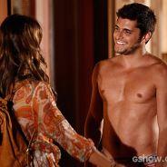 """Na novela """"Em Família"""", Luiza dá fora em Laerte e vai pra cama com André"""