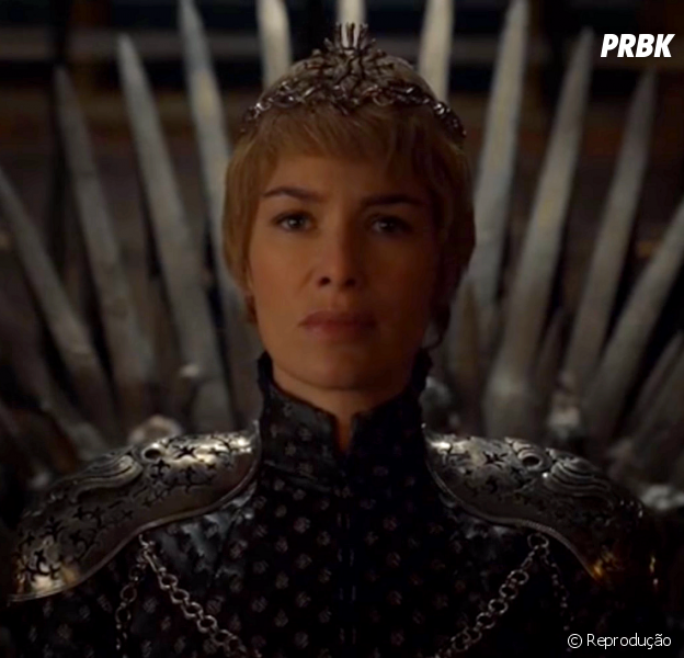 """Cersei (Lena Headey) é a nova Rainha dos Sete Reinos em """"Game of Thrones"""""""
