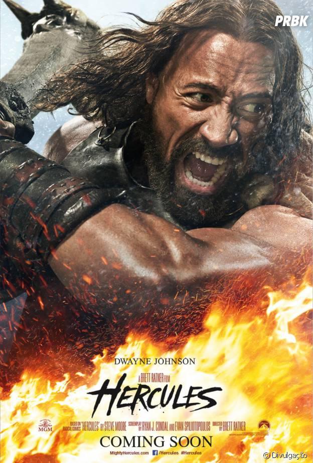"""Cartaz de """"Hércules"""", que estreia em setembro nos cinemas brasileiros"""
