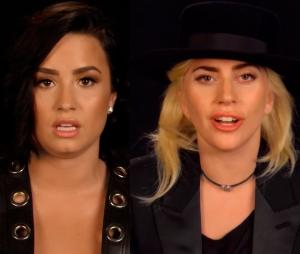 Demi Lovato e Lady Gaga aparecem em vídeo especial