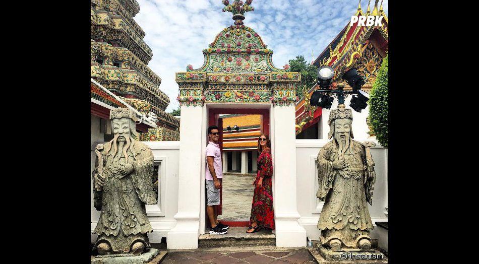 Marina Ruy Barbosa e Xandinho Negrão estão curtindo férias na Tailândia