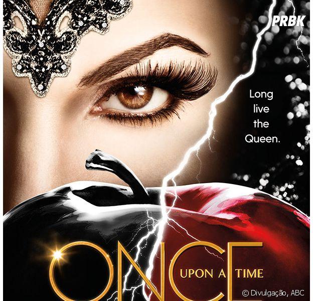 """Em """"Once Upon a Time"""": Rainha Má (Lana Parrilla) é destaque no primeiro pôster oficial da 6ª temporada!"""