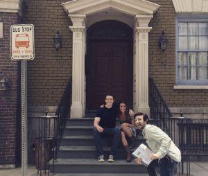 """Lea Michele eRobert Buckley gravaram juntos a série de ficção científica """"Dimension 404"""""""