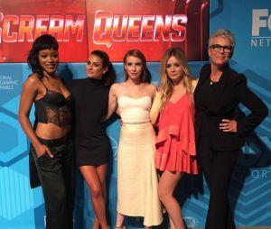 """Lea Michele e suas colegas de elenco de """"Scream Queens"""""""