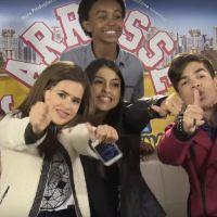 """Maisa Silva, de """"Carrossel 2"""", faz vídeo com Fernanda Concon, Lucas Santos e Jean Paulo, do elenco!"""