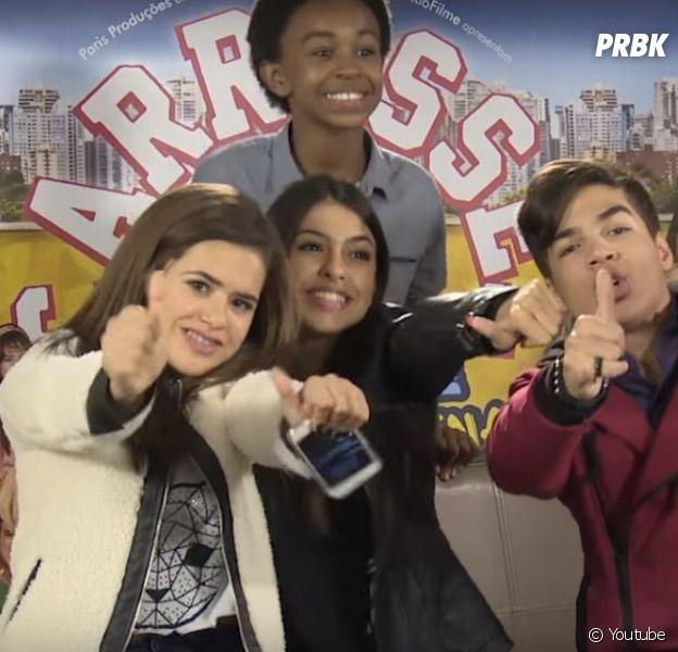 """Maisa Silva posta vídeo no Youtube com atores de """"Carrossel 2"""""""