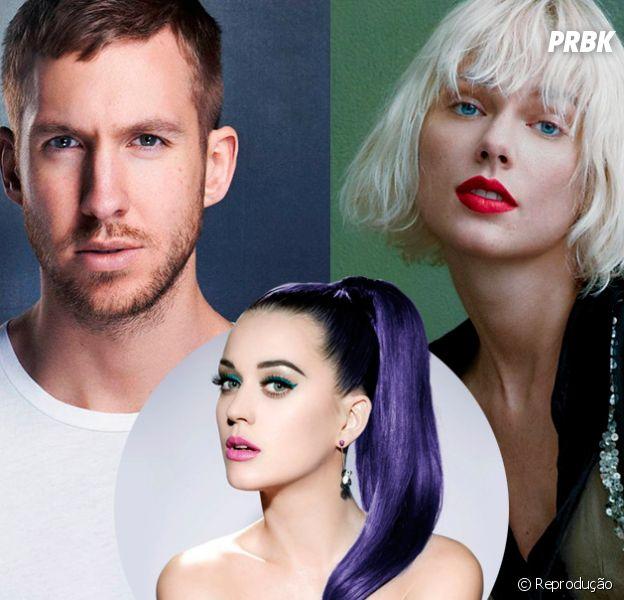 Katy Perry aparece no Twitter com indiretas para Taylor Swift e Calvin Harris