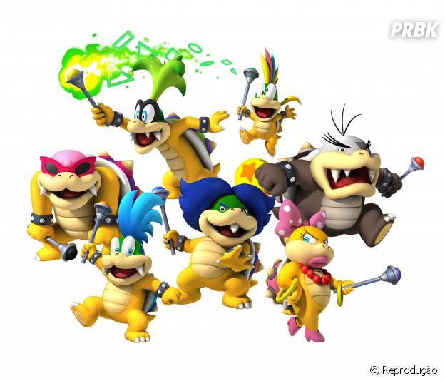 """Os sete Koppalings vão tocar o terror em """"Mario Kart 8""""."""