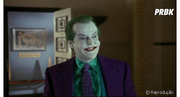 Em 1989, Jack Nicholson foi o Coringa em Batman, com a direção de Tim Burton