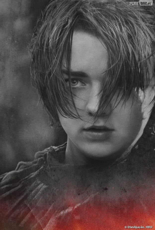 "O destaque do 1º episódio da 4ª temporada de ""Game of Thrones"" foi Arya (Maisie Williams)"
