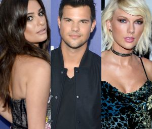 Lea Michele e Taylor Lautner relembram namoro do ator com Taylor Swift em vídeo hilário