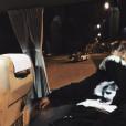 Sofia Richie chegou a postar uma foto onde aparece usando um casaco com a foto de Justin Bieber