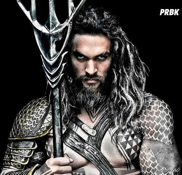 """Filme """"Liga da Justiça"""": Jason Momoa (Aquaman) se diverte nos bastidores do filme!"""
