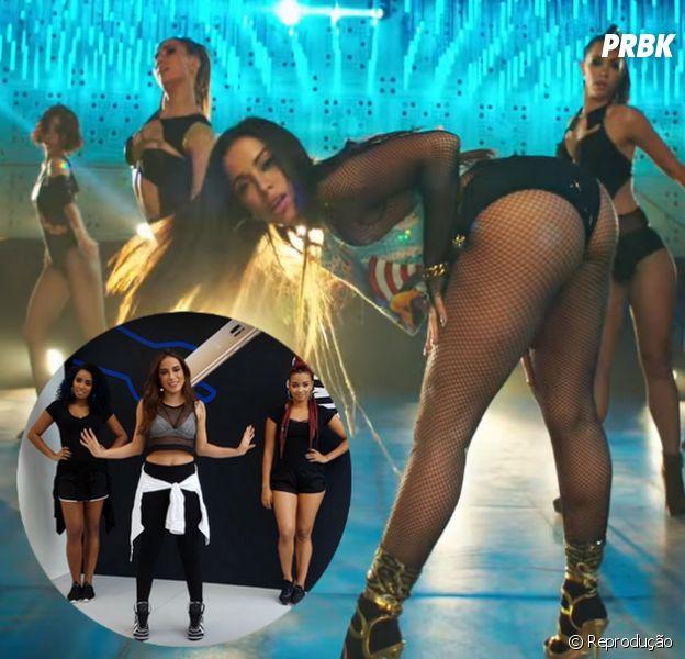 """Anitta ensina a dançar """"Sim Ou Não"""", seu novo hit com Maluma!"""