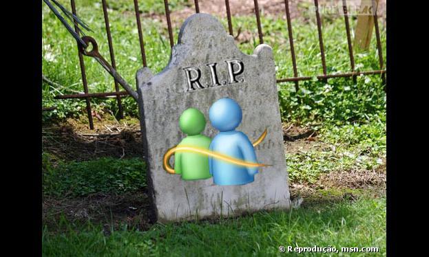 O MSN, da Microsoft, foi desativado em abril de 2013