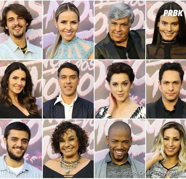 """De Sophia Abrahão a Sidney Magal, veja os participantes da """"Dança dos Famosos 2016"""""""