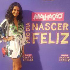 """De """"Malhação"""", Aline Dias comemora ser a primeira protagonista negra: """"Vamos além da cor da pele"""""""