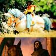 """Em """"Meu Pedacinho de Chão"""", o Zelão (Irandhir Santos) é o capataz do grande vilão e tem um visual super bizarro, assim como o Valete (Michael Socha) de """"Alice"""""""