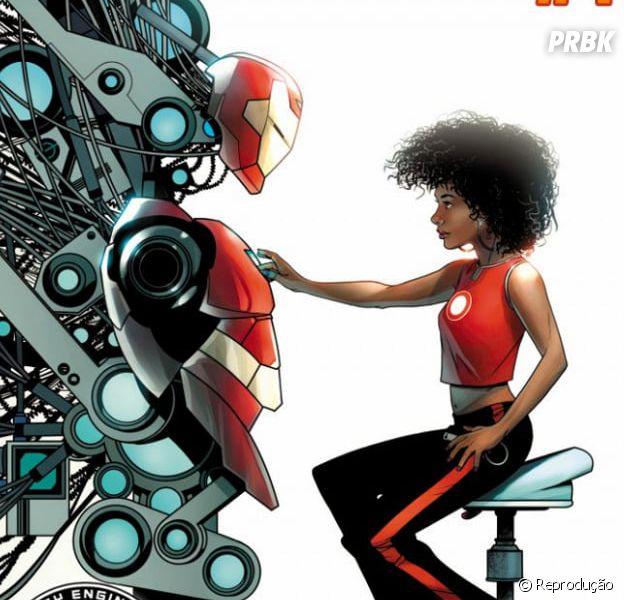 Riri Williams, nova Homem de Ferro, irá se chamar Ironheart