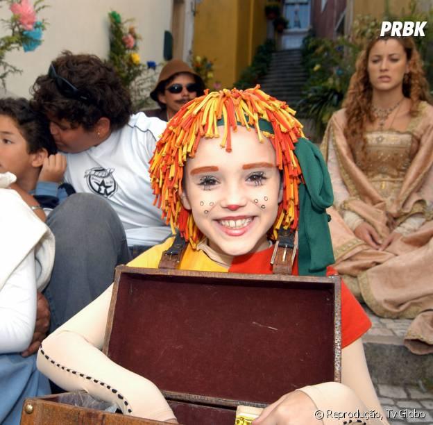 """Em 2001 Isabelle Drummond fez grande sucesso na série """"Sítio do Pica-pau Amarelo"""""""