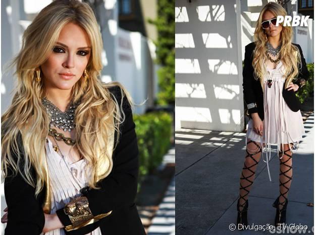 """Em """"Geração Brasil"""", Isabelle Drummond será Megan, uma patricinha à lá Lindsay Lohan"""