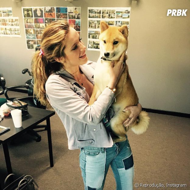 Bella Thorne ama animais!