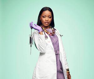 """De """"Scream Queens"""", Keke Palmer também surge como enfermeira nas fotos da 2ª temporada"""