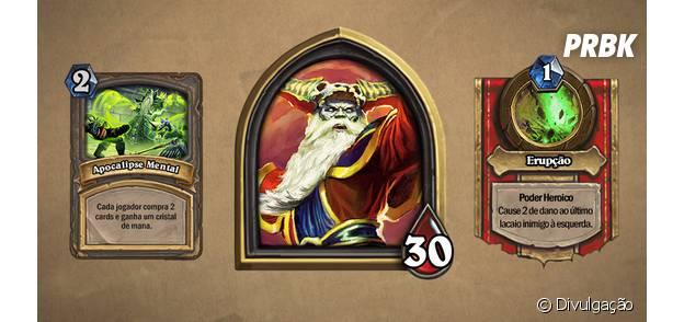 """O chefe da nova aventura de """"Hearthstone"""", Heigan, vai liberar cards legendários"""