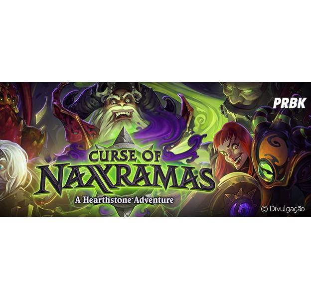 """""""Curse Naxxramas"""" é a primeira aventura do jogo """"Harthstone"""""""