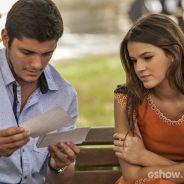 """Na novela """"Em Família"""": Luiza termina com André por causa de Laerte"""