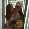 Até tirando selfie no espelho MC Gui e Luiza Cioni arrasam
