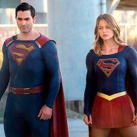 """Em """"Supergirl"""": na 2ª temporada, Superman (Tyler Hoechlin) e Kara lutam juntos em nova foto!"""