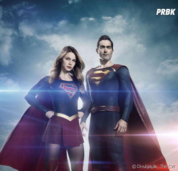 """Em """"Supergirl"""", Tyler Hoechlin fala sobre dificuldades em gravações"""