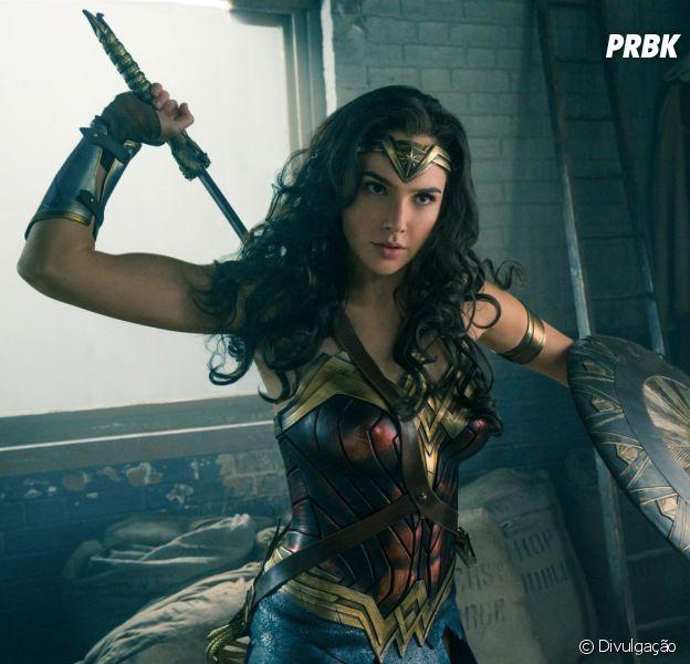 A Mulher-Maravilha (Gal Gadot) é a primeira super-heroína da DC Comics a ganhar um filme solo!
