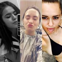 """Maisa Silva, Demi Lovato, Miley Cyrus e mais celebridades que são """"gente como a gente"""" no Instagram"""