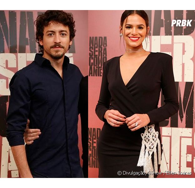 "Jesuíta Barbosa elogia Bruna Marquezine: ""Uma baita atriz"""