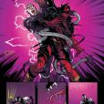 """Da Marvel, confira primeiras fotos do quadrinho """"Deadpool: Back in Black"""""""