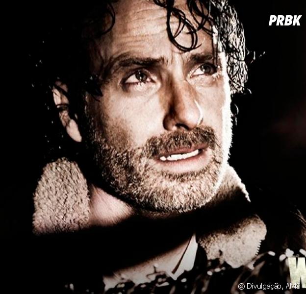 """De """"The Walking Dead"""": na 7ª temporada, Andrew Lincoln, o Rick, conta detalhes sobre Negan (Jeffrey Dean Morgan)"""