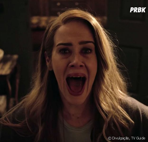 """Em """"American Horror Story: Roanoke"""", Sarah Paulson, a Shelby Miller, faz revelações"""