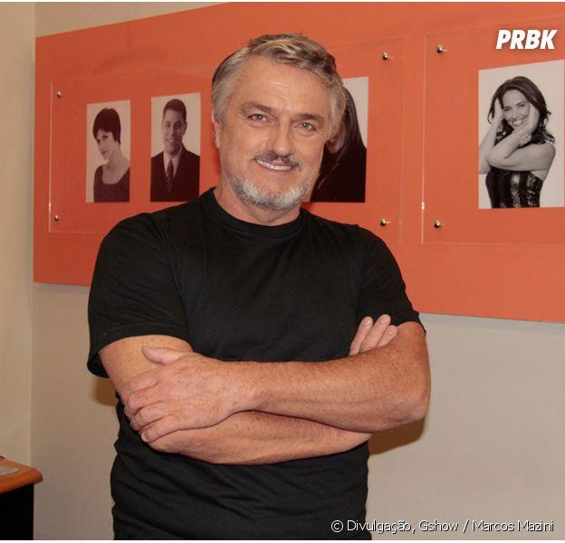 """Guido (Werner Schünemann), o pai desaparecido Shirlei (Sabrina Petraglia) vai retornar para a trama de """"Haja Coração"""""""