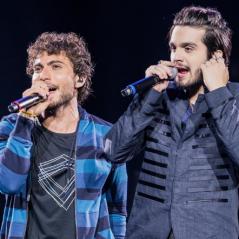 """Luan Santana comemora sucesso de """"E Essa Boca Aí?"""", parceria com a dupla Bruninho e Davi"""