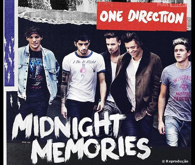 "One Direction revela capa do álbum ""Midnight Memories""!"