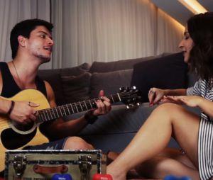 """Arthur Aguiar e Bárbara Dias gravam vídeo inédito da música """"Será Que é Tarde"""""""