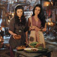 "Novela ""A Terra Prometida"": Samara (Paloma Bernardi) e Léia (Beth Goulart) envenenam Adara!"