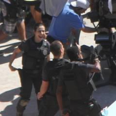 Cleo Pires e Thiago Martins gravam filme como policiais em favela do Rio