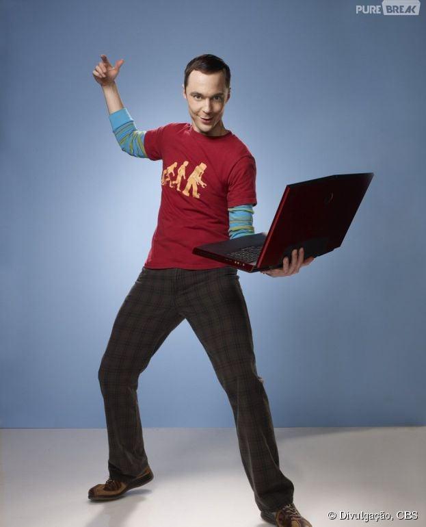 "Em ""The Big Bang Theory"", Sheldon (Jim Parsons) vai surtar!"