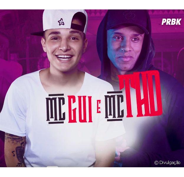 """MC Gui e MC THD comemoram sucesso da música """"Tchuk Tchuk"""" em todo o Brasil"""