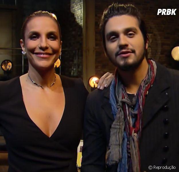 Luan Santana e Ivete Sangalo vão cantar juntos no Prêmio Multishow 2016