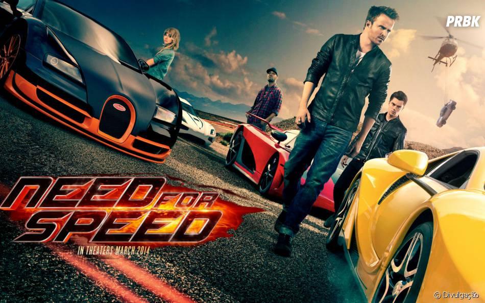 """O filme """"Need For Speed"""" estreou em 14 de março"""